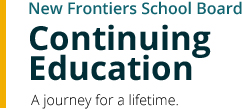 NFSB Continuing Education - A journey for a lifetime.