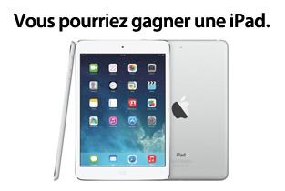 iPad Air dans le vent