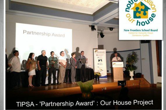 Partnership Award - Our House