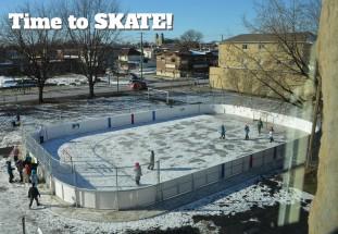 Heroes, skating rink and financial literacy…