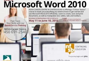 Learn WORD 2010 Basic Skills in 15 hours