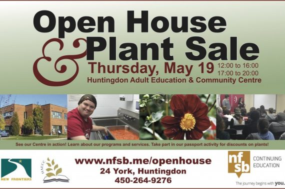 Open House/Plant Sale @ HAECC: May 19th