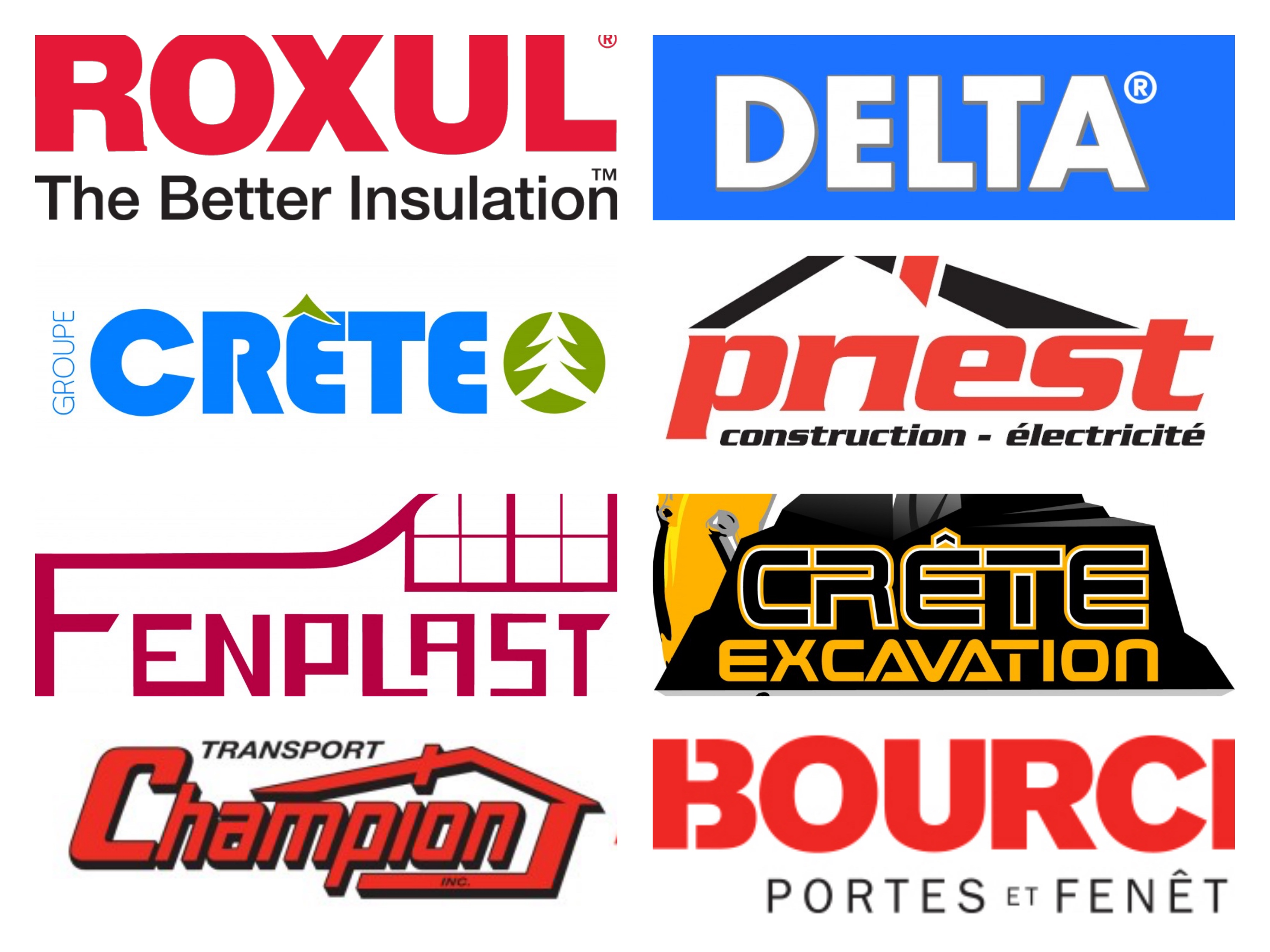 Our House sponsors!