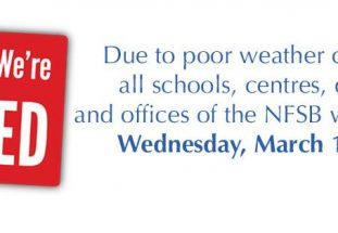 March 15th: our Centres will be closed.