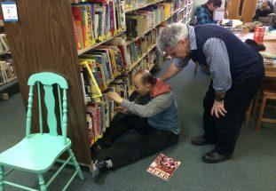Sortie à la bibliothèque